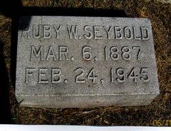 Ruby <I>Walker</I> Seybold