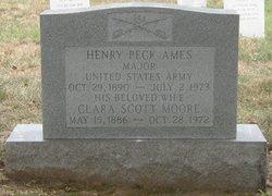 Clara <I>Moore</I> Ames