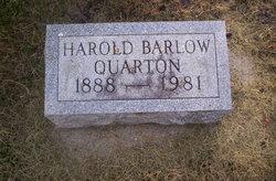 Harold Barlow Quarton
