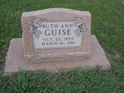 Ruth Ann <I>Bleam</I> Guise