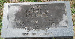 "Everett E ""Corky"" Baltimore"