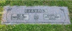 Minerva Ann <I>Wooden</I> Benson