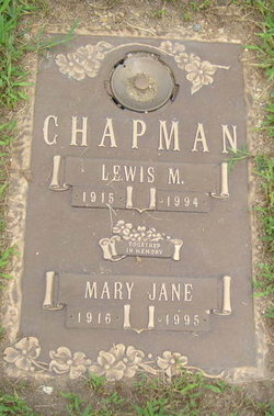 Mary Jane <I>Palmer</I> Chapman