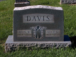 Mary Alice <I>Glover</I> Davis