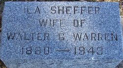 Ila <I>Sheffer</I> Warren
