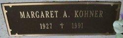 Margaret A <I>Merchlewitz</I> Kohner