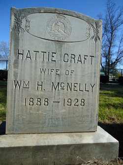 Hattie <I>Craft</I> McNelly