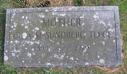 Olga M. <I>Sundberg</I> Teece