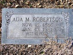 Ada Margaret <I>McCrary</I> Robertson