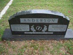 Willie Espy <I>Matheson</I> Anderson