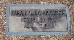 Sarah Meem Apperson