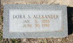 "Edna Eudora ""Dora"" <I>Sebastian</I> Alexander"
