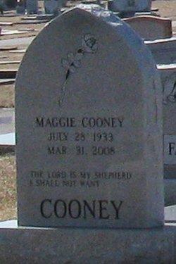 Maggie G. <I>McClendon</I> Cooney