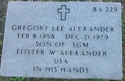 Gregory Lee Alexander