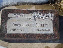 Nora <I>Wright</I> Averett