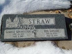 George Washington Straw