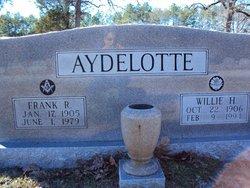 Willie May <I>Hubbard</I> Aydelotte