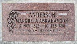 Margreta <I>Abrahamson</I> Anderson Oleen