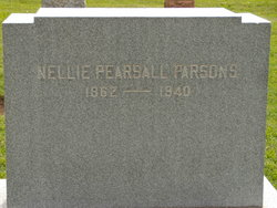 Nellie <I>Pearsall</I> Parsons