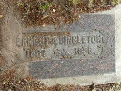 Ernest A Singleton