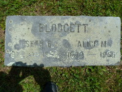 Alice M <I>Thompson</I> Blodgett