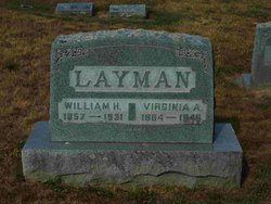Virginia A <I>Henshaw</I> Layman