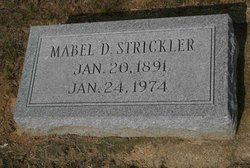 Mabel R. <I>Davis</I> Strickler