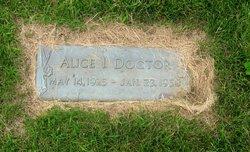 Alice I Doctor