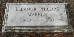 Eleanor Frances <I>Phillips</I> Warren