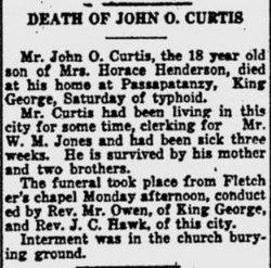 John O Curtis