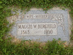 "Margaret W ""Maggie"" Bergfeld"