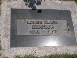 Louise <I>Clark</I> Bennion