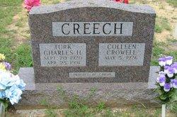 """Charles Hubert """"Turk"""" Creech"""