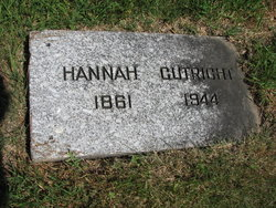 Hannah <I>Hultgren</I> Cutright