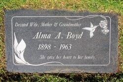 Alma A. <I>Parkhurst</I> Boyd