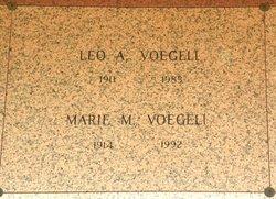 Marie Magdalen <I>Meyer</I> Voegeli