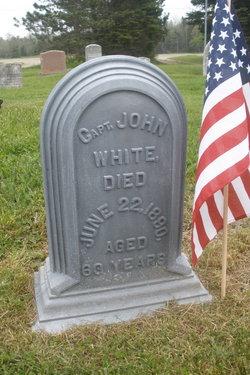 Capt John C White, Jr