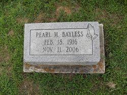Pearl <I>Moore</I> Bayless
