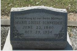 Marie Louise <I>Schostag</I> Schneider