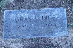 Charles Matlock Rice
