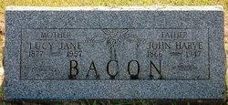 Lucy Jane <I>Waitman</I> Bacon