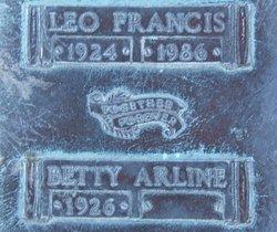 Betty Arline Hanlon