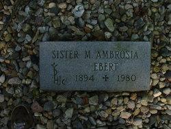 Sr M. Ambrosia Ebert