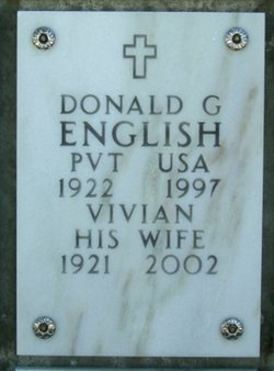 Donald Glen English
