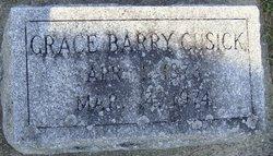 Grace <I>Barry</I> Cusick