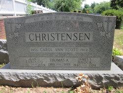 Carol Ann <I>Scott</I> Christensen