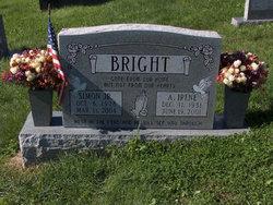 Agnes Irene <I>Taylor</I> Bright