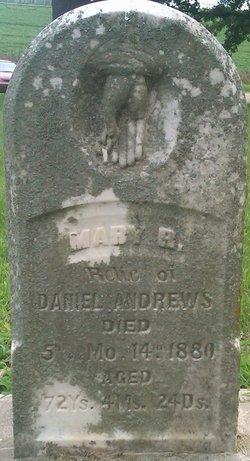 Mary <I>Ratcliff</I> Andrews