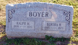 Ralph M Boyer