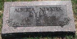 Lewis Alberta <I>Newkirk</I> Dyer